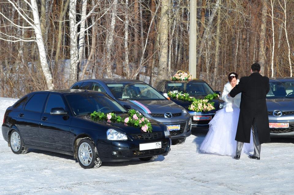 Катание на свадьбе |
