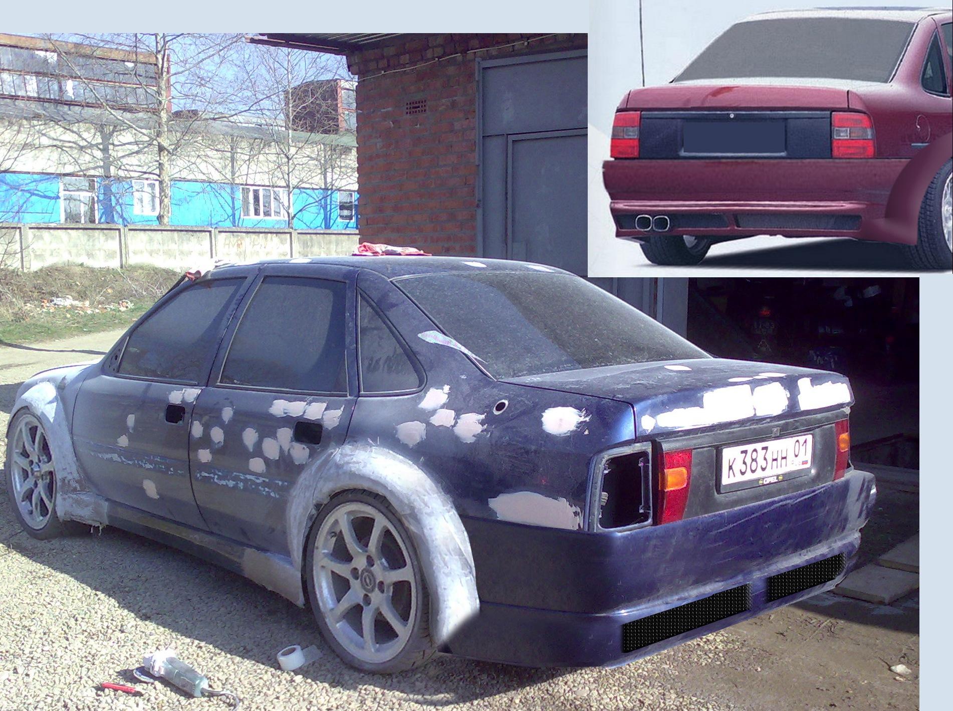 Opel vectra и своими руками