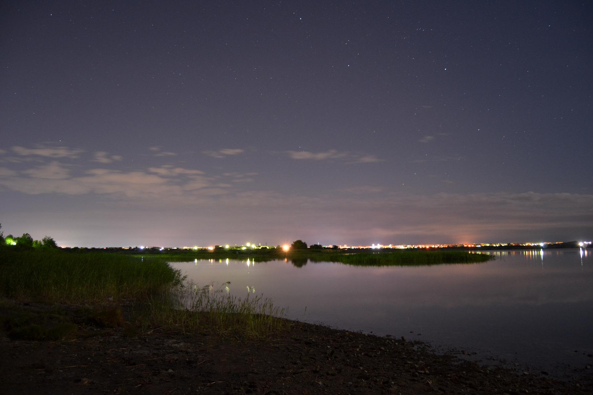 Сделать текст, картинки тихая ночь
