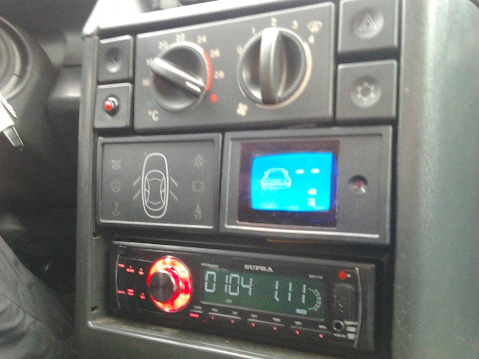 Фото №16 - установка парктроника на ВАЗ 2110