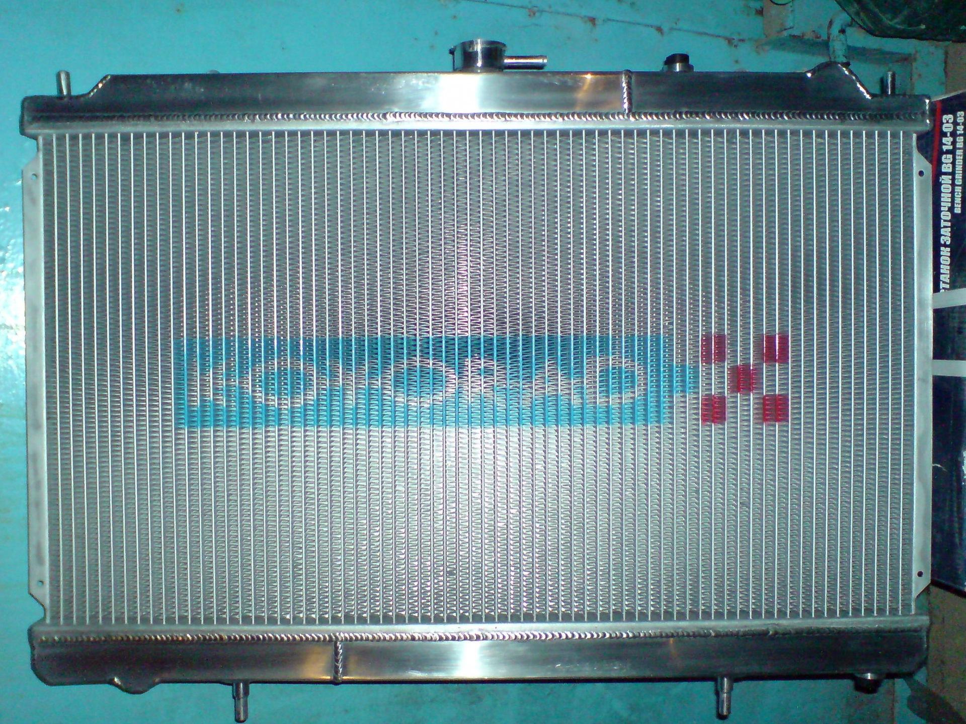 радиатор mazda rx-8