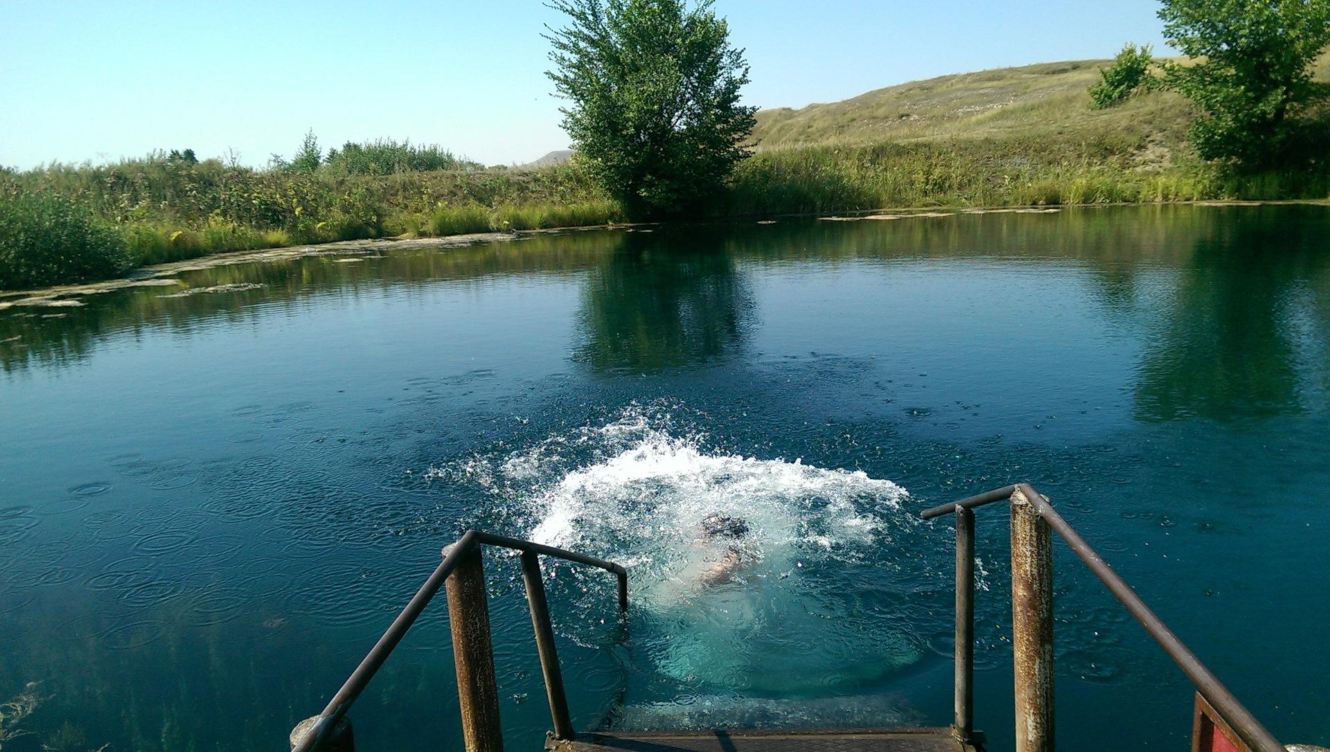 голубое озеро энгельс фото пьер