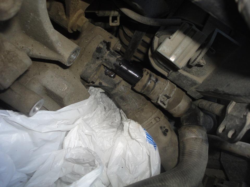 Замена термостата на форд фокус 2 своими