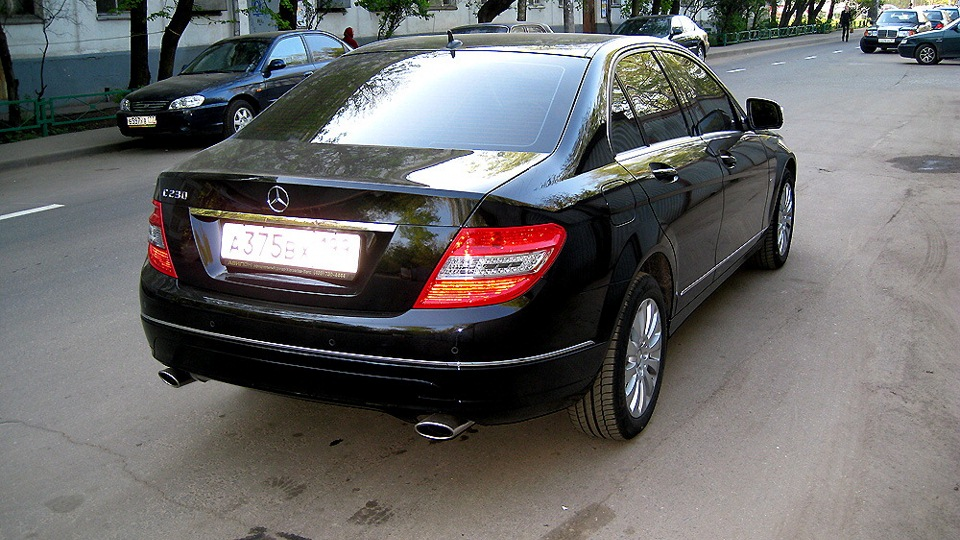 Mercedes benz c class 2008 luck creator for Mercedes benz creator
