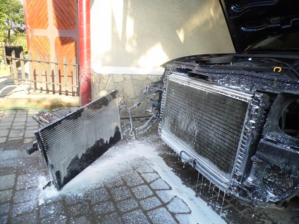Мойка радиатора автомобиля своими руками 65