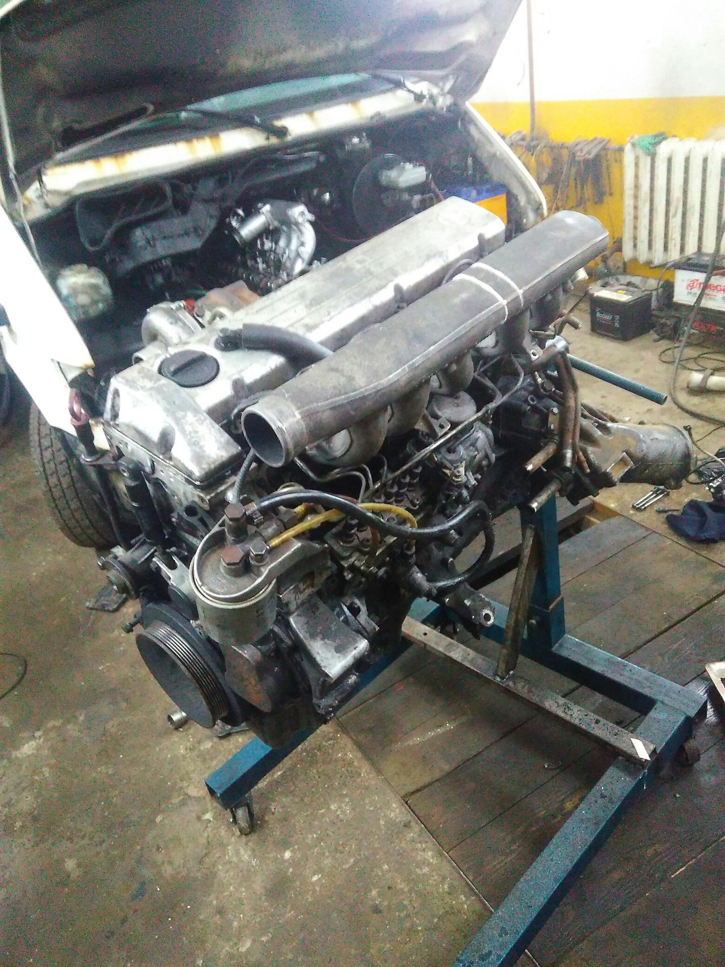 отзывы дизельный двигатель мерседес ом 617