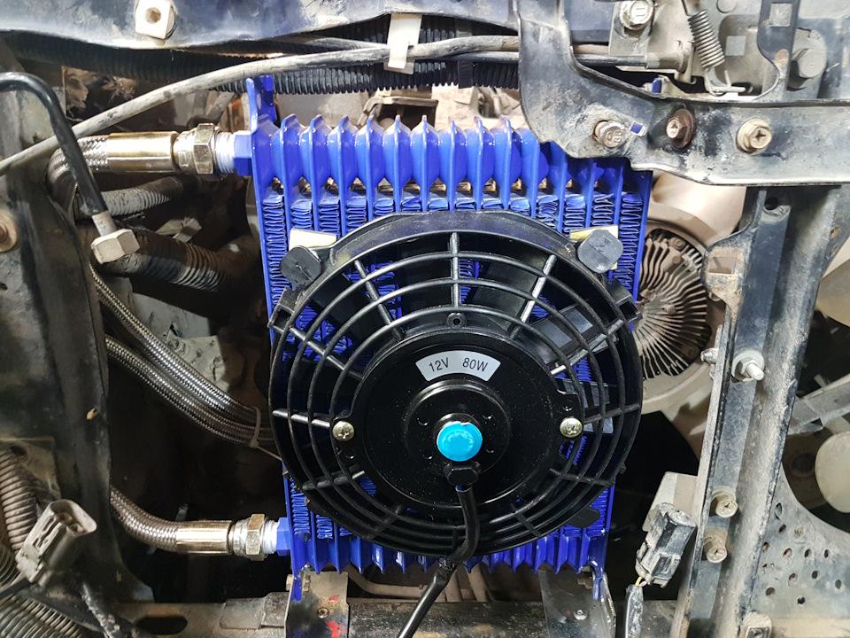 Охлаждение масла в двигателе своими руками