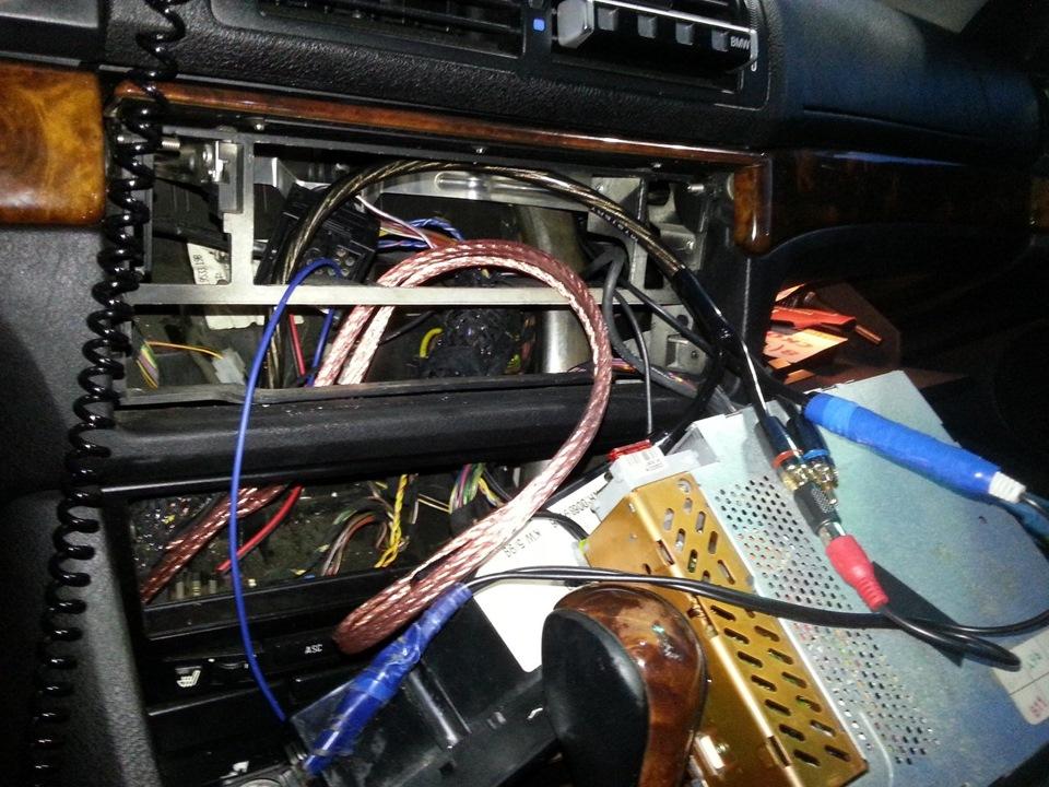 не работает магнитола в BMW e39