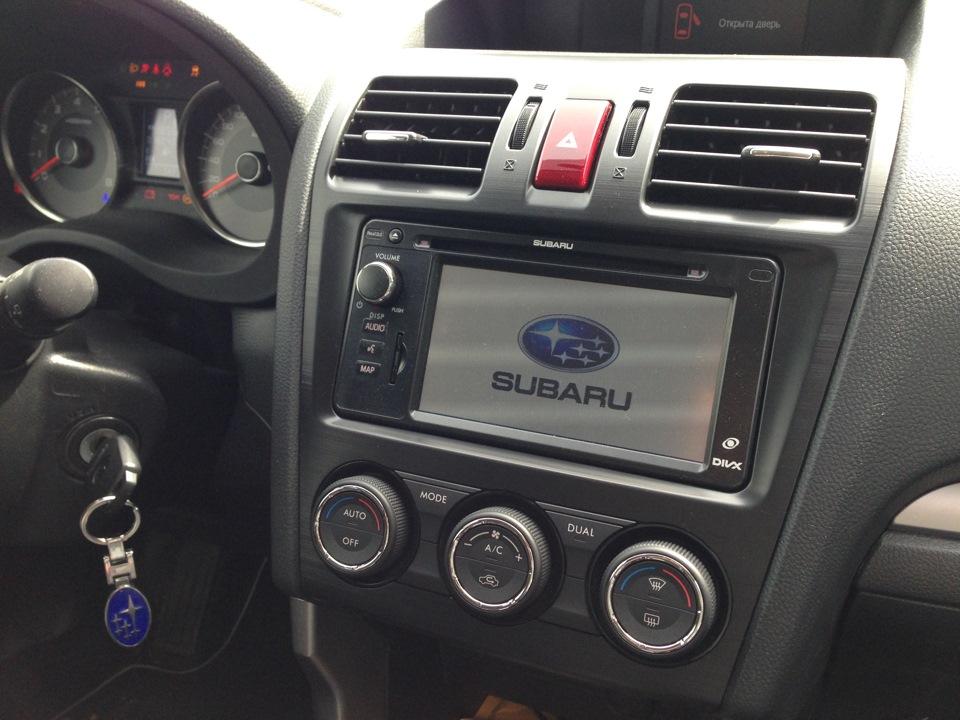 Штатные магнитолы для авто Subaru — комфорт и шикарный интерьер