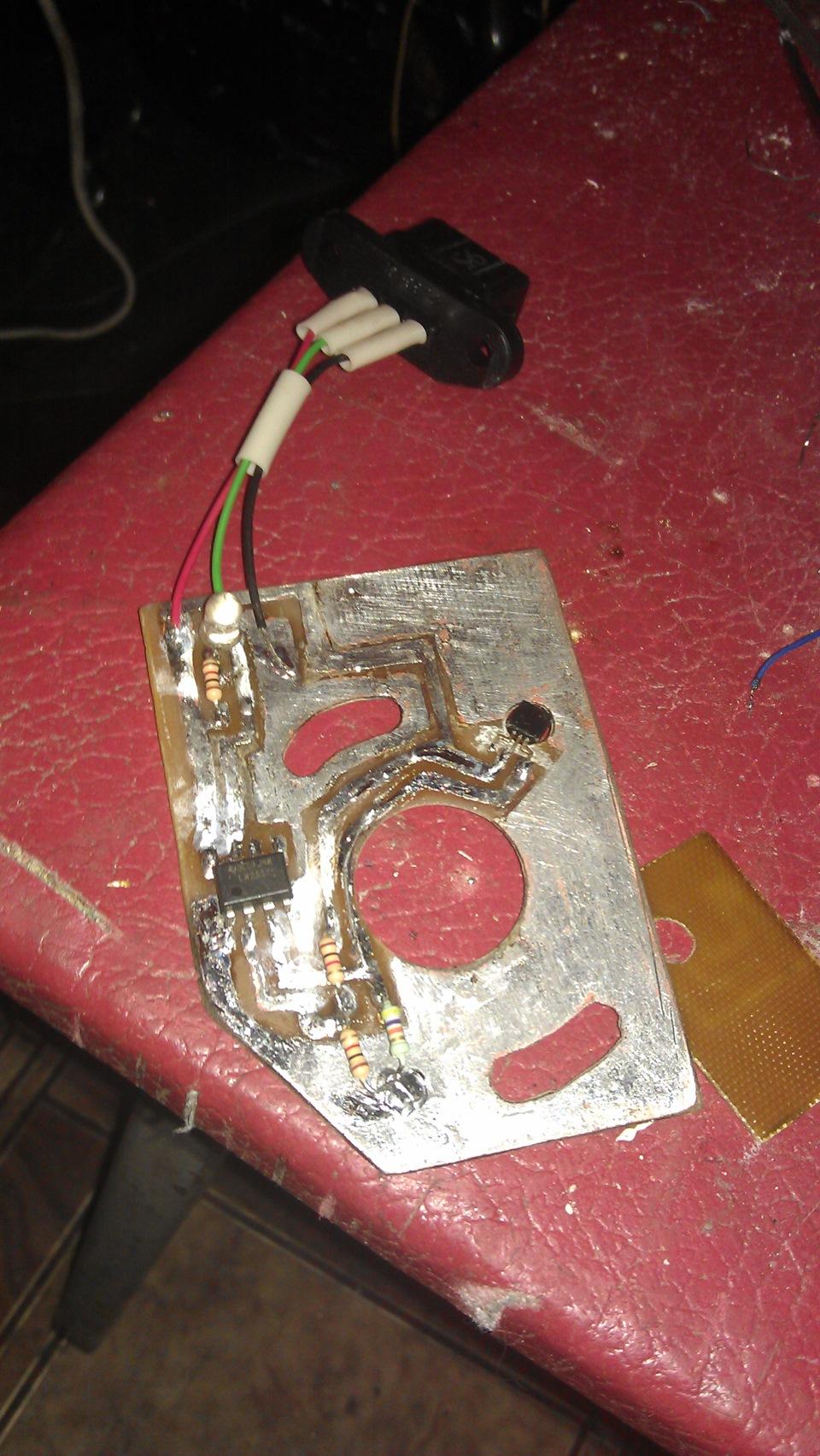 схема электронного зажигания иж ю5