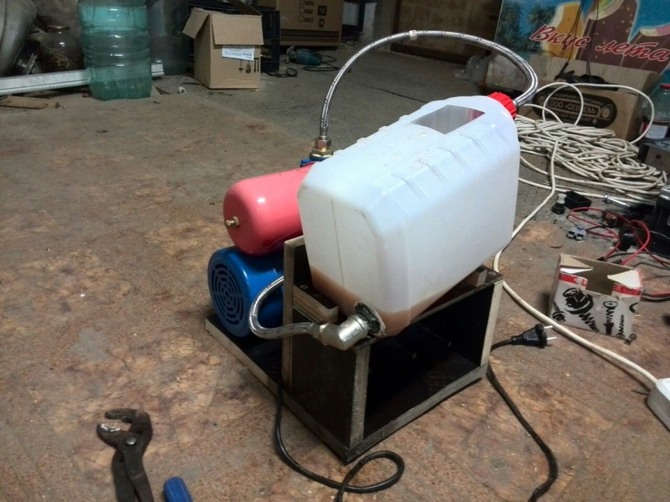Циркуляционный насос для промывки теплообменников теплообменники альфа лаваль г.королев