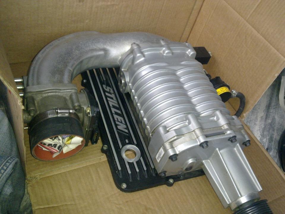 Механический компрессор для двигателя своими руками