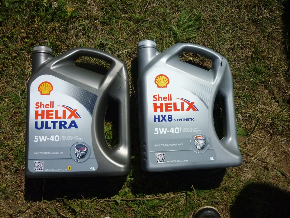 Shell Helix Ultra 5w40: как отличить подделку?