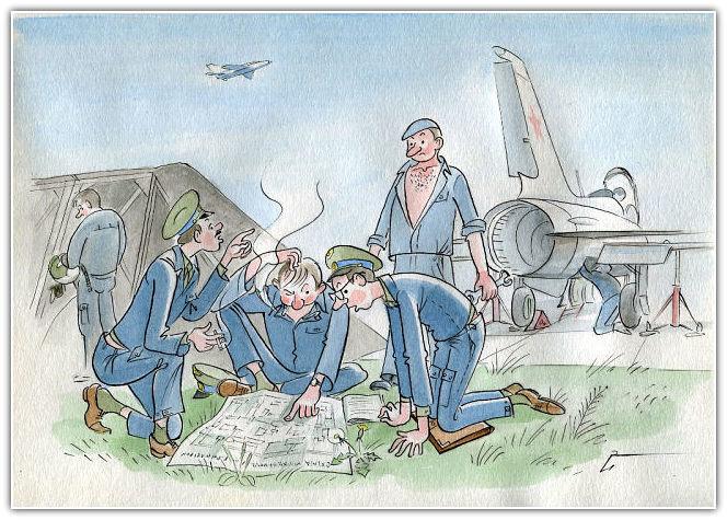 Картинки трех, прикольные открытки летчикам