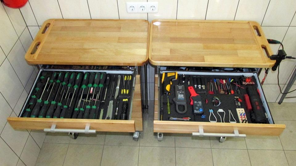 Ящик с инструментами своими руками