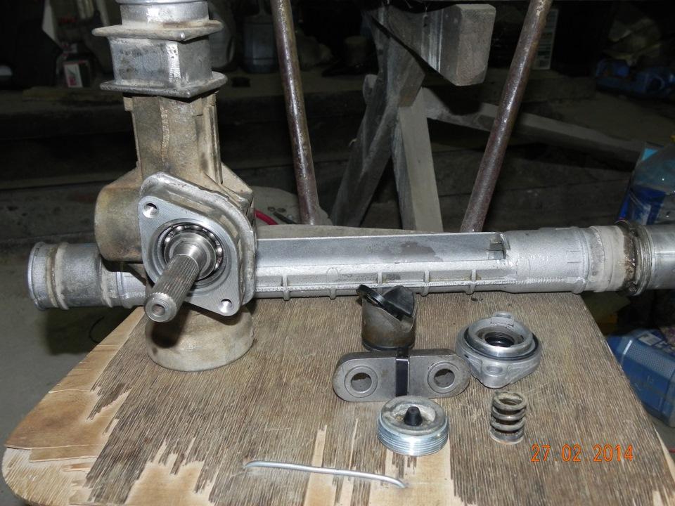 Фото №5 - ремкомплект рулевой рейки ВАЗ 2110 замена