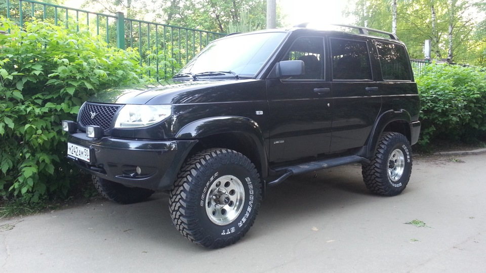 Uaz-469 for spin tires