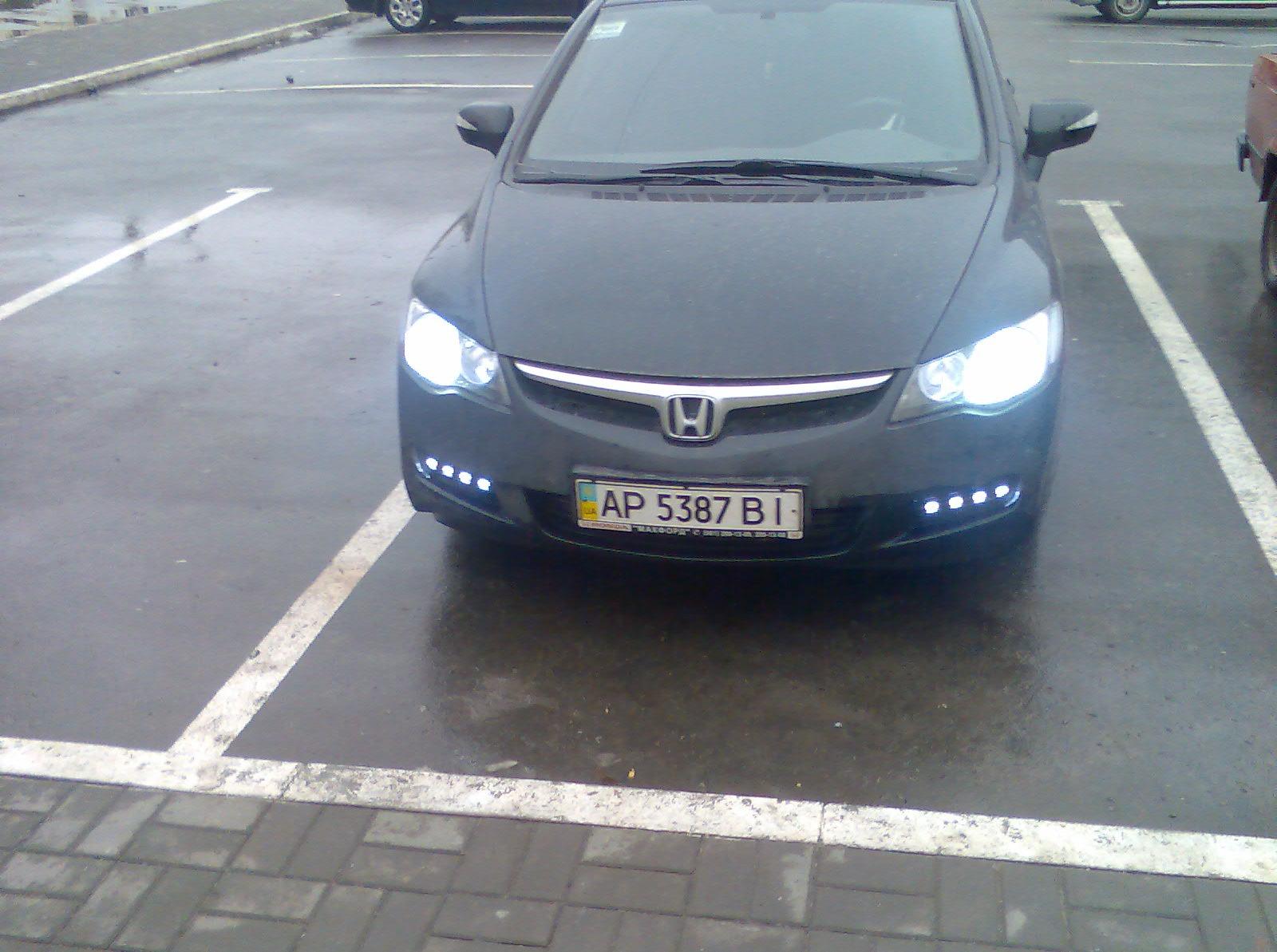 Honda civic 4d своими руками