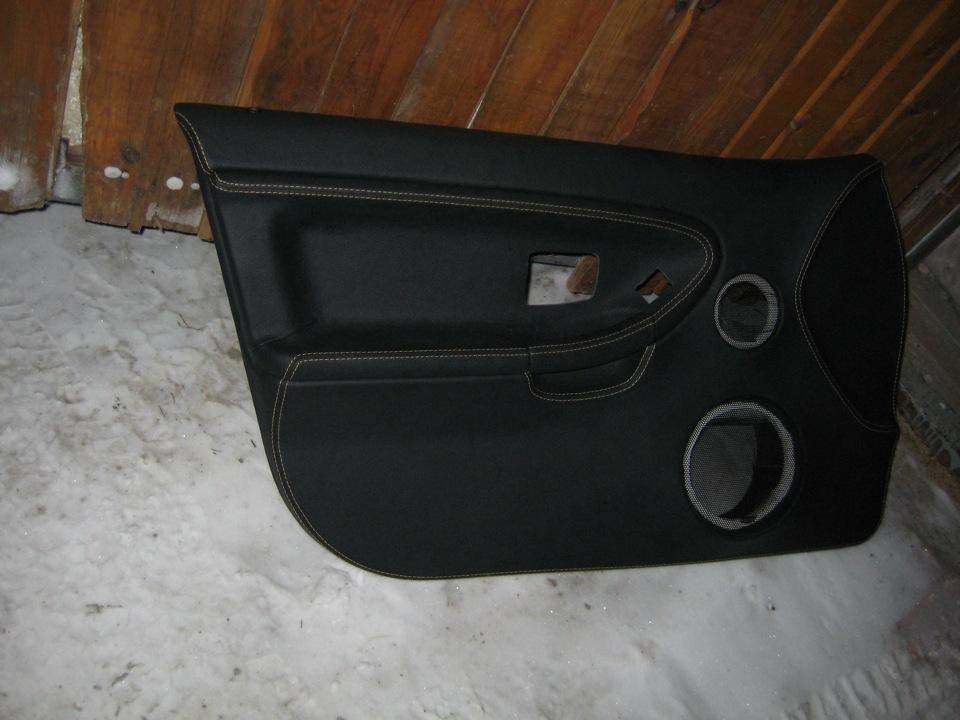 перетяжка дверных вставок bmw e36