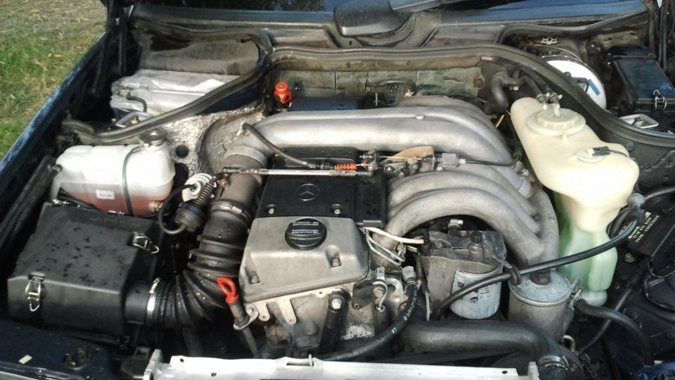 замена масла в двигателе мерседес 124 3.0 дизель