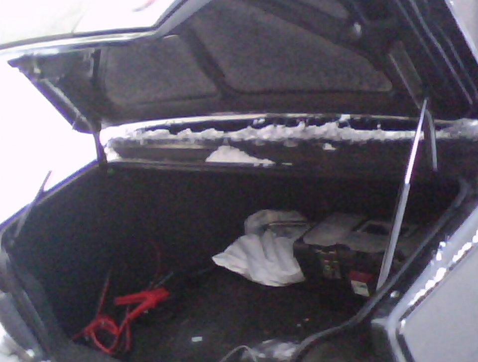 Своими руками открывание багажника 2115
