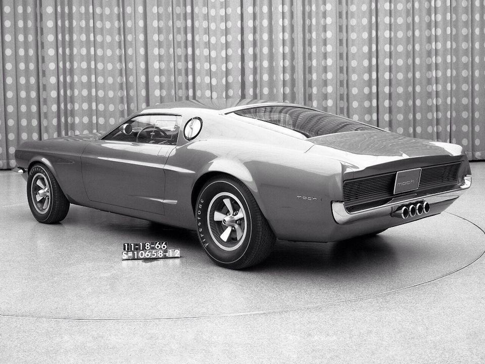 концепт кар форд мустанг
