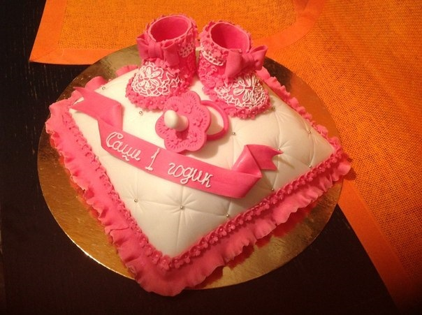 Торт на рождение дочки своими руками 605