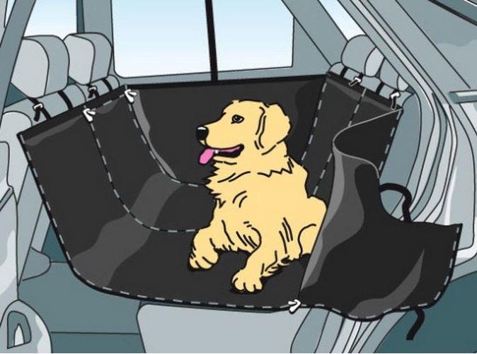 Автогамаки для перевозки собак в машине своими руками
