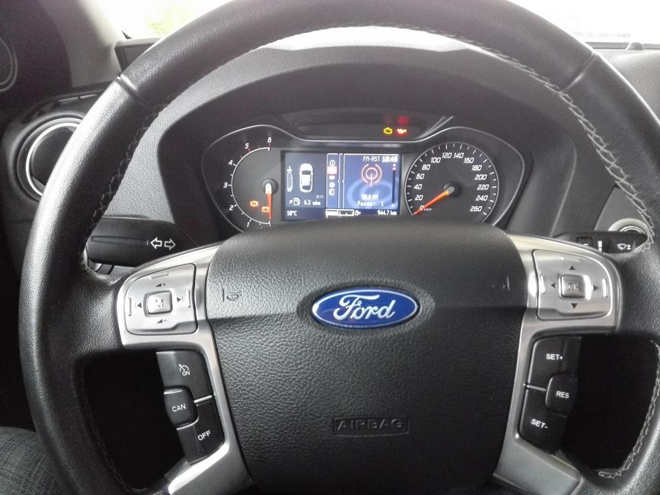 кнопки круиза для ford s max