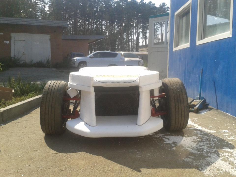 Изготовление кузова из стеклопластика - бортжурнал Петруха 2012 года на DRIVE2