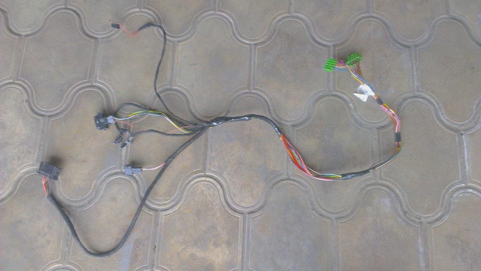 ремонт проводки мерседеса #11