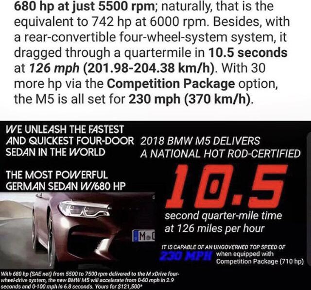 Bmw M5 Quarter Mile Time