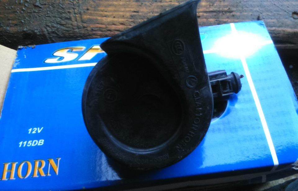 замена штатного звукового сигнала на авто фольксваген-туран