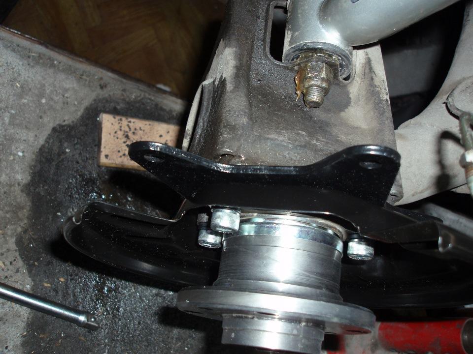 Как сделать задние дисковые тормоза на ваз 2112