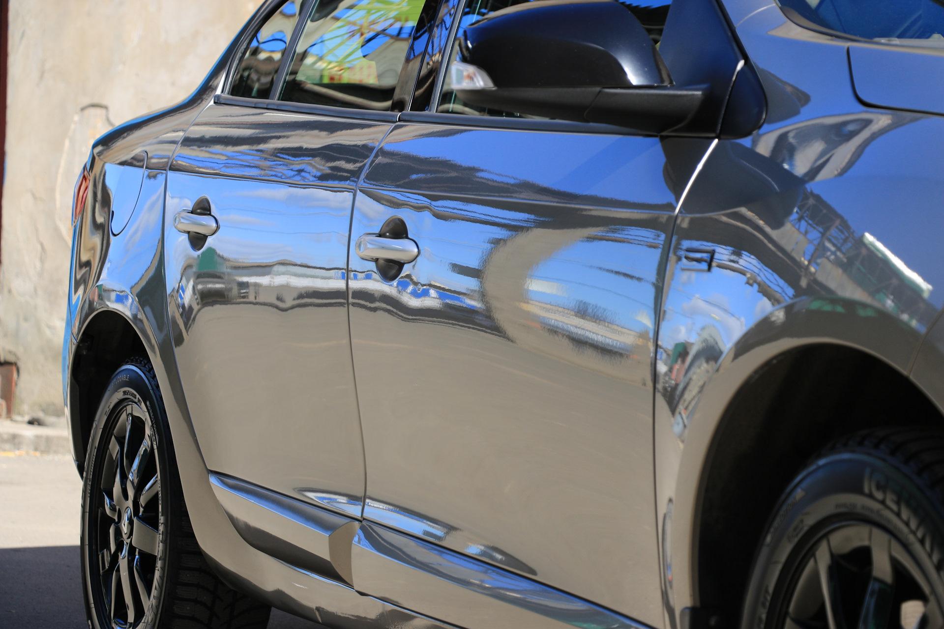 Керамическое покрытие для защиты кузова автомобиля