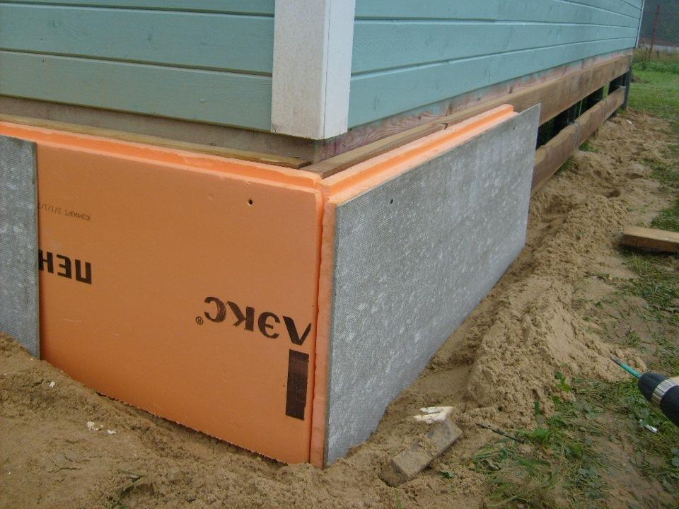 Как сделать отливы на фундамент дома 82