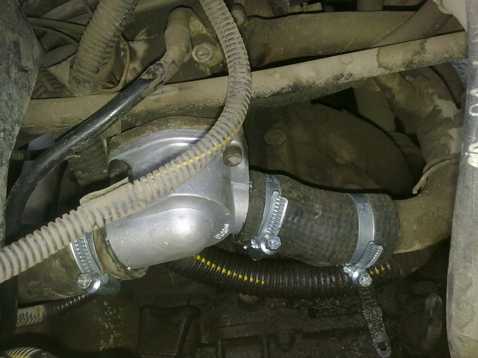 Фото №42 - 2110 замена термостата