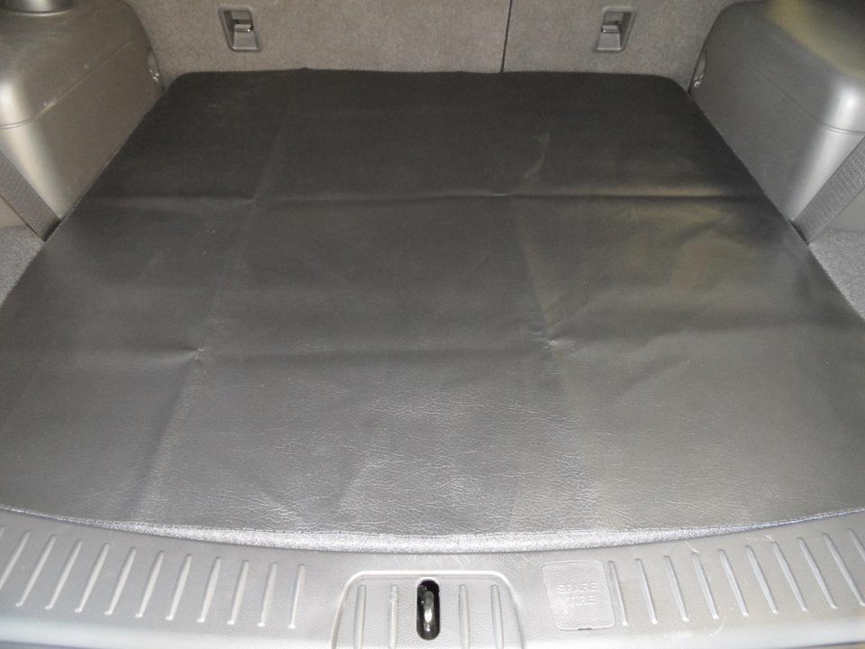 Как своими руками сделать коврик в багажник