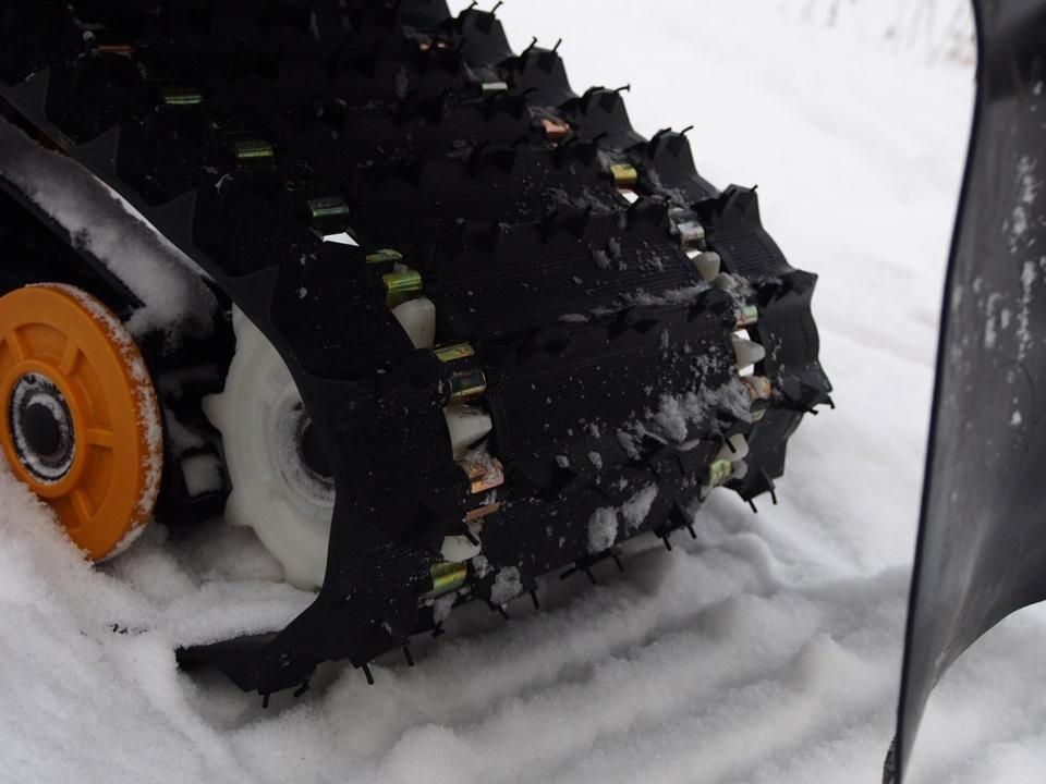 Как отрегулировать гусеницу на снегоходе динго 150