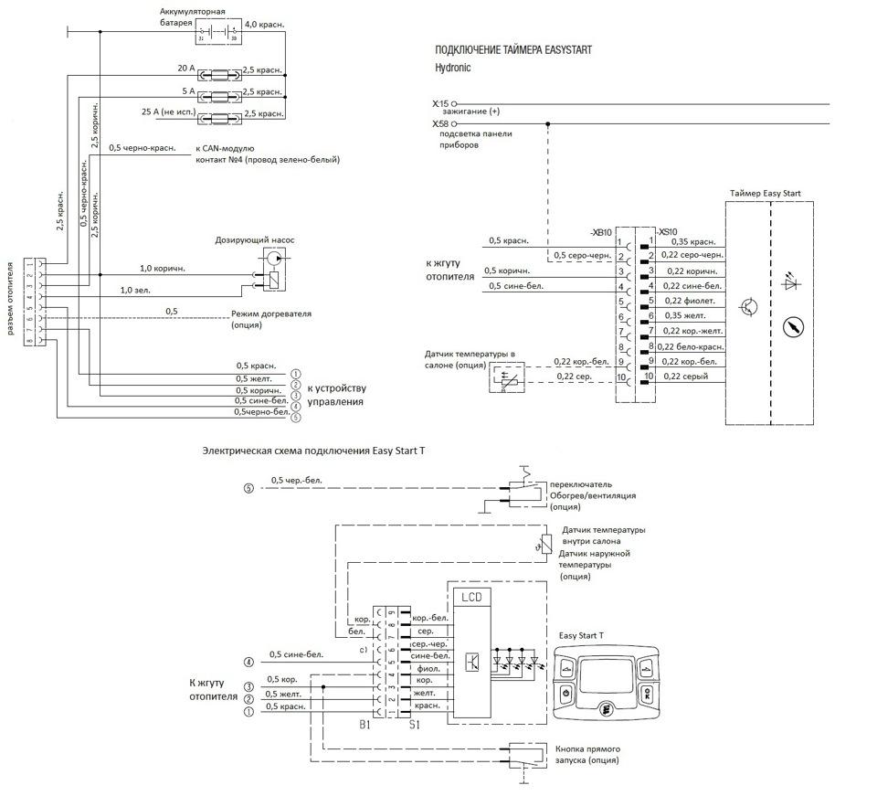 схема установки бинара 5 компакт на газель