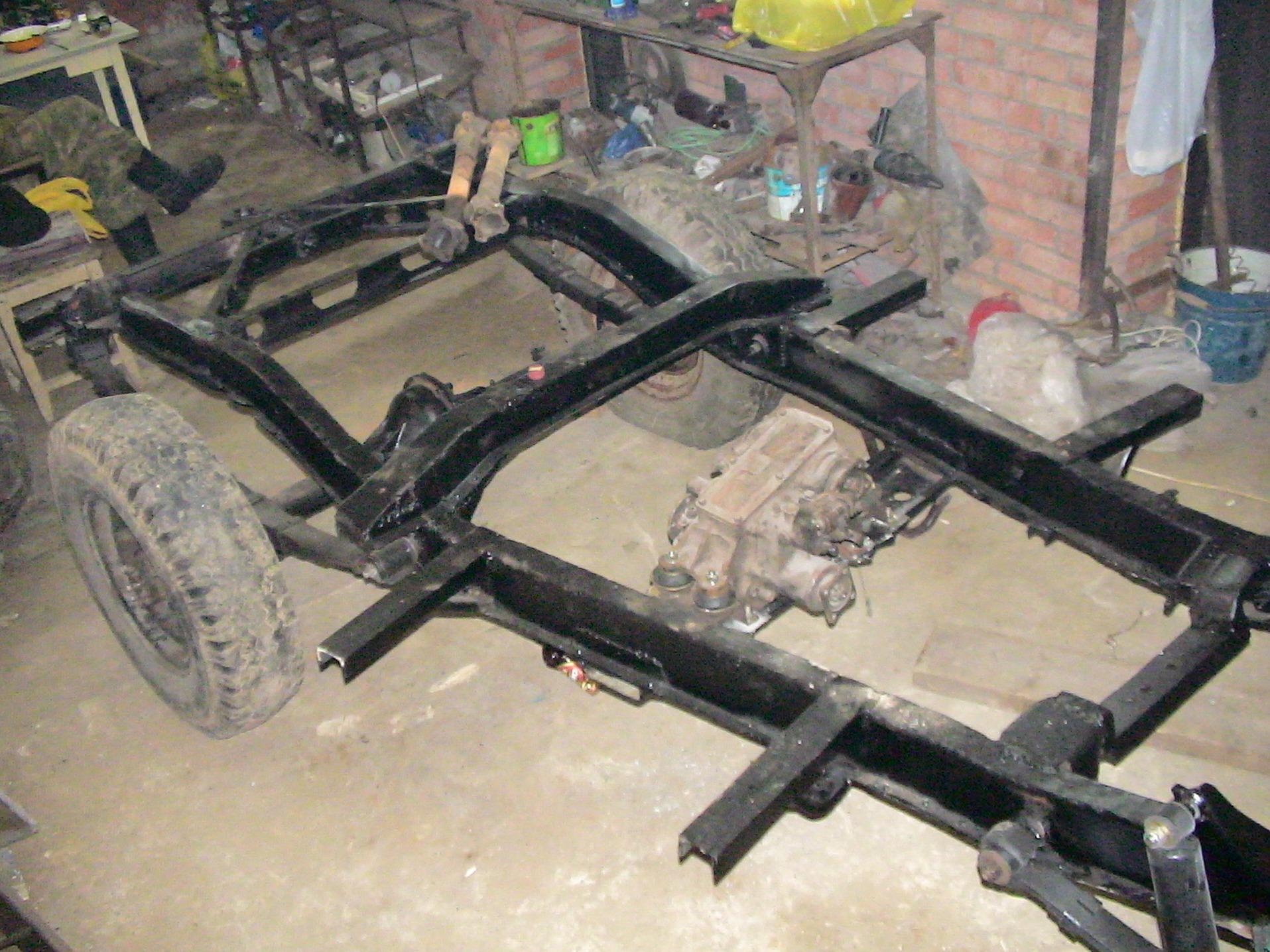 Ремонт рамы! - бортжурнал ГАЗ 69 Вепрь 2007 года на DRIVE2