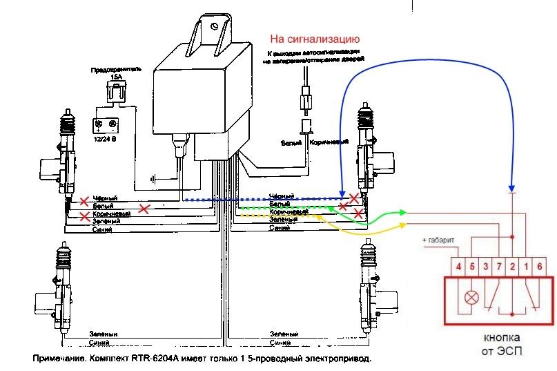2.1 Для подключения приводов в