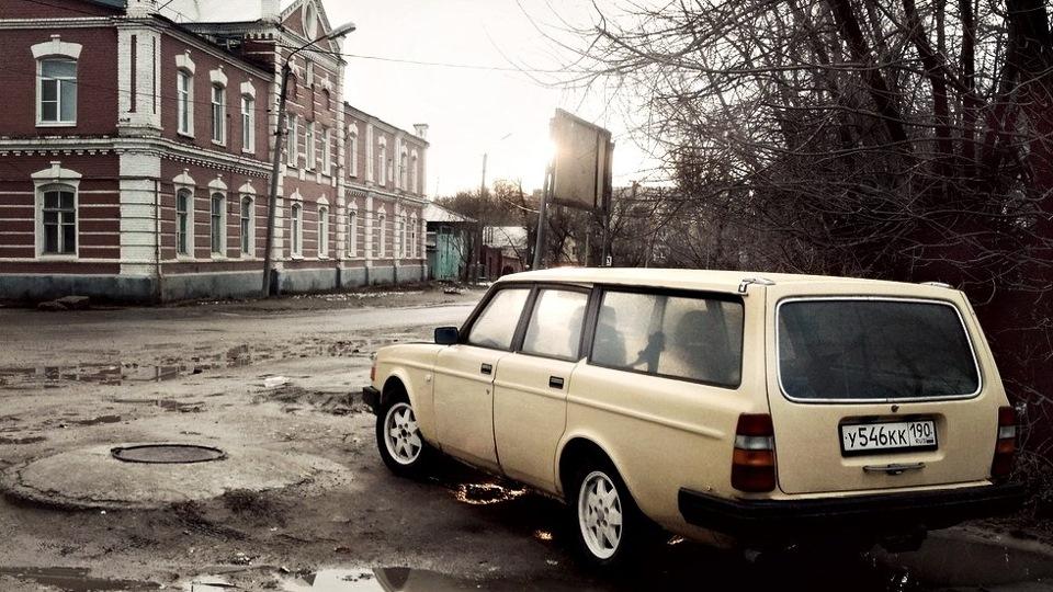 вольво 245 сарай вечное авто