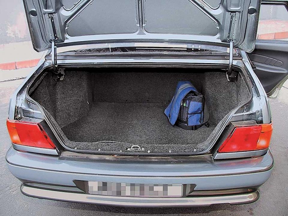 Карпет в багажнике