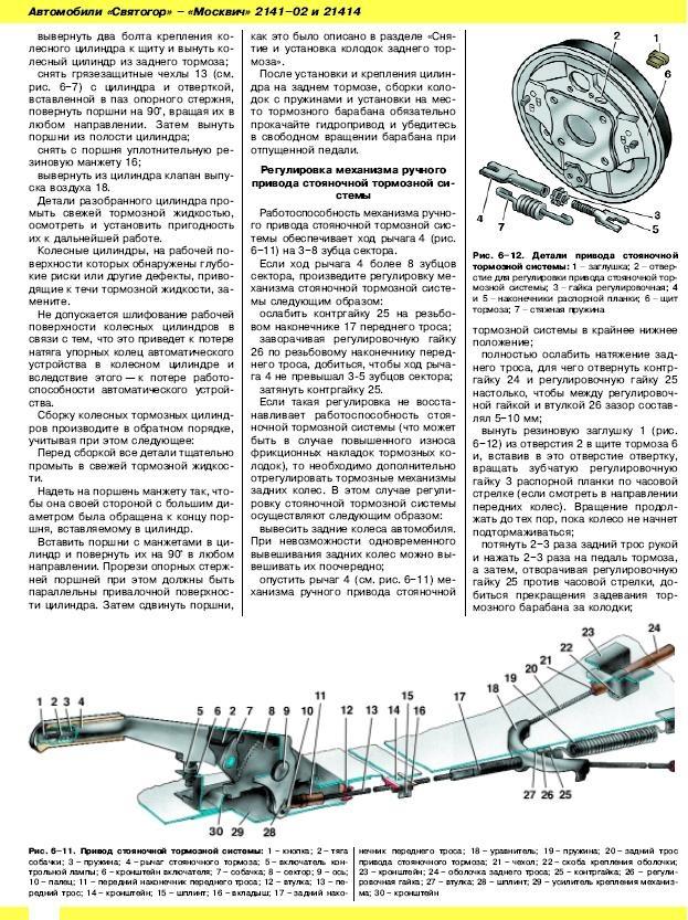 Сход-развал на москвиче 2141