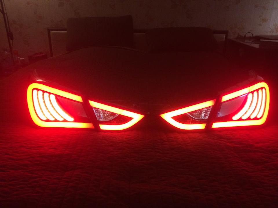 Светодиодный фонарь в авто своими руками