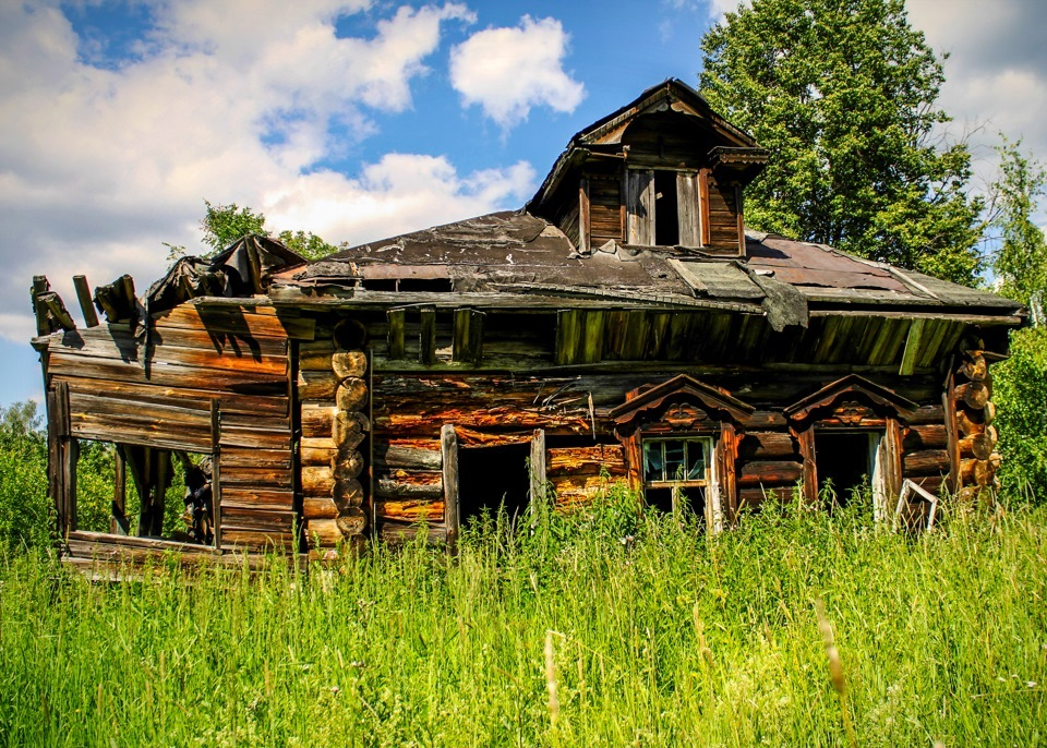 фото заброшенных деревень россии телефонный