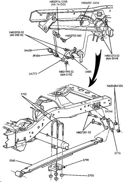 Схема установки на эксплорер