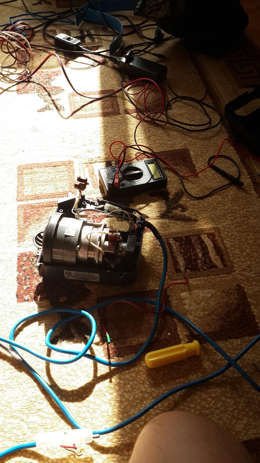 Схема подключения пылесоса фото