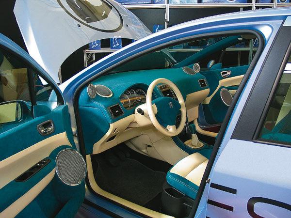 peugeot 307 автозвук